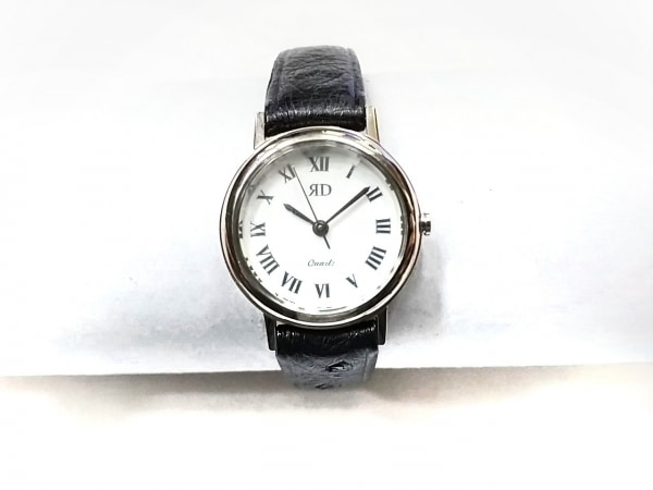 RODANIA(ロダニア) 腕時計 RD-7001L レディース オーストリッチベルト 白