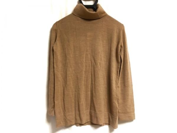 HERNO(ヘルノ) 長袖セーター サイズ44 L レディース ベージュ タートルネック