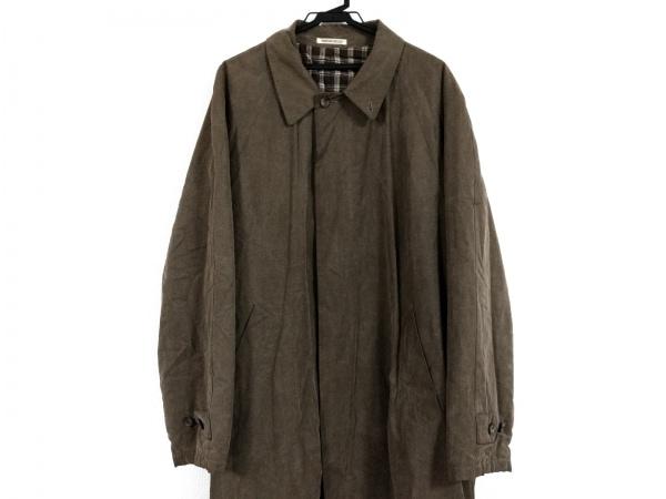 BARREAUX(バルー) コート サイズ48 XL メンズ ブラウン 冬物
