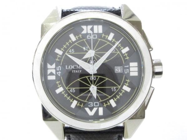 LOCMAN(ロックマン) 腕時計 R.160 レディース 黒
