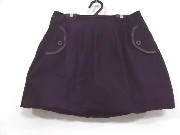 STUNNING LURE(スタニングルアー) ミニスカート サイズ38 M レディース美品  黒
