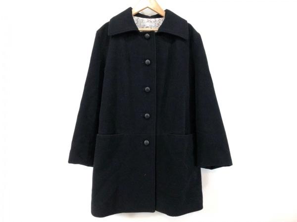THE GINZA(ザ ギンザ) コート サイズ42 L レディース美品  黒 冬物