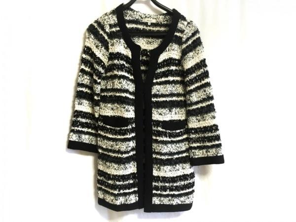 BALLSEY(ボールジー) コート サイズ38 M レディース美品  黒×白×ダークグレー