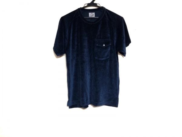 needles(ニードルス) 半袖Tシャツ サイズS レディース ネイビー