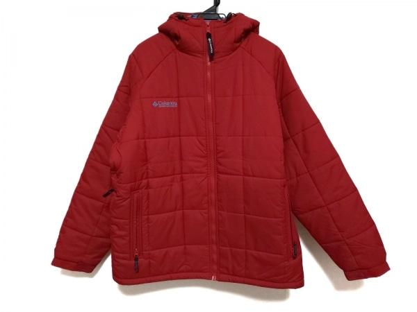 columbia(コロンビア) ダウンジャケット サイズL メンズ美品  レッド 冬物
