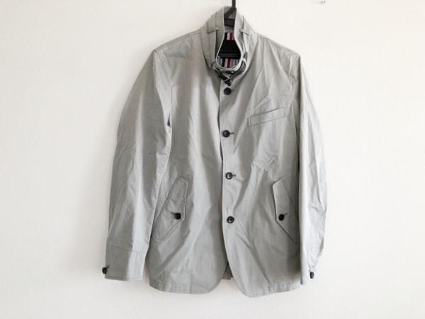 MEN'S MELROSE(メンズメルローズ) ジャケット サイズ3 L メンズ グレー ハイネック
