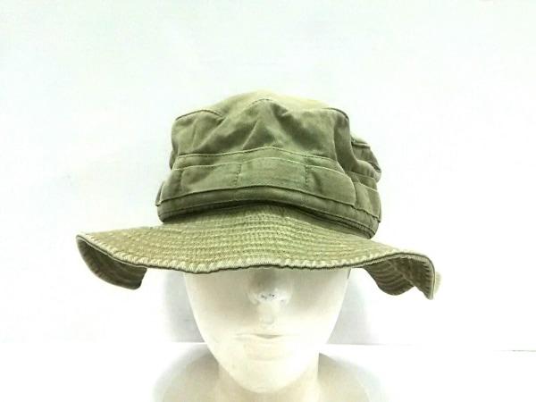 POLObyRalphLauren(ポロラルフローレン) 帽子 L‐XL カーキ コットン