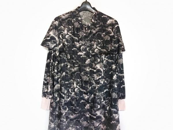 YUMAKOSHINO(ユマコシノ) ワンピース レディース美品  黒×ベージュ 春・秋物