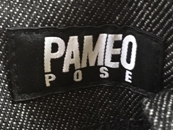 PAMEO POSE(パメオポーズ) オールインワン サイズS レディース美品  黒×白