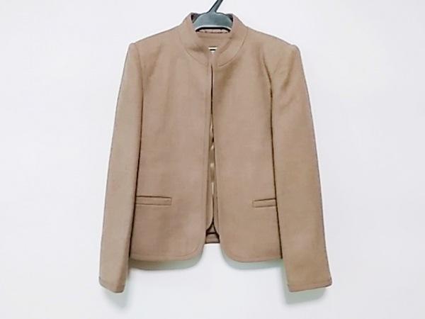 バンベール ジャケット サイズ7A2 レディース美品  ライトブラウン 2点セット