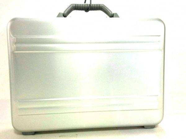 ゼロハリバートン アタッシュケース シルバー ロックナンバー【000】 金属素材