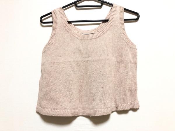 JUSGLITTY(ジャスグリッティー) セーター サイズ2 M レディース美品  ピンクベージュ