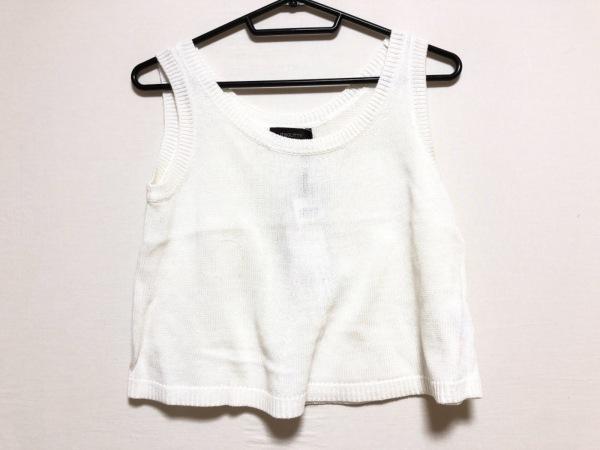 JUSGLITTY(ジャスグリッティー) セーター サイズ2 M レディース美品  白