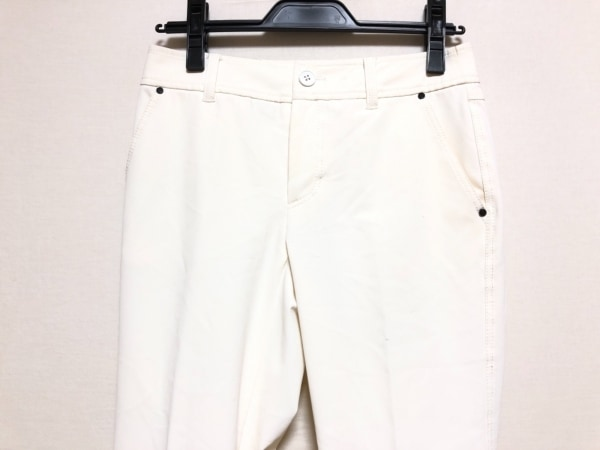 BURBERRYGOLF(バーバリーゴルフ) パンツ サイズ7 S レディース 白