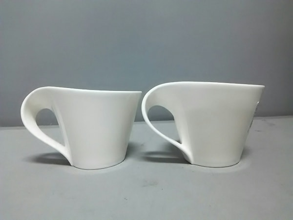 ビレロイ&ボッホ マグカップ新品同様  ニューウェーブ 2484-1330 白 陶器