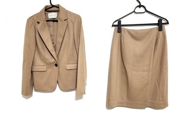 ユナイテッドアローズ スカートスーツ サイズ38 M レディース美品  ライトブラウン