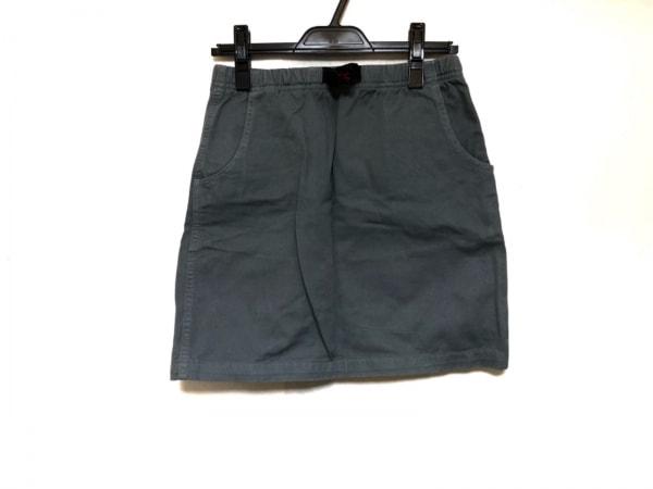 Gramicci(グラミチ) スカート サイズS レディース美品  グレー