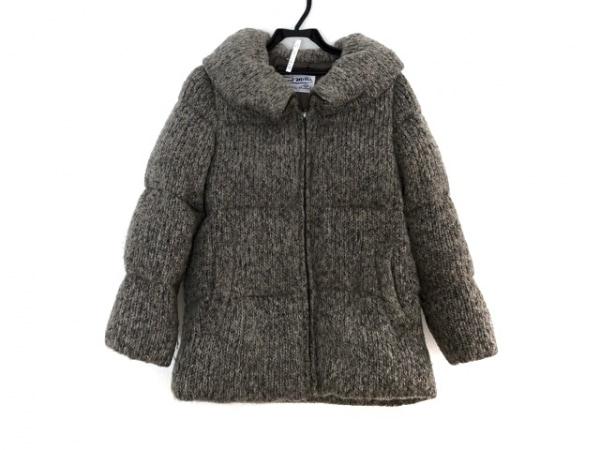 フォードミルズ ダウンジャケット サイズ36 S レディース ベージュ×黒 冬物
