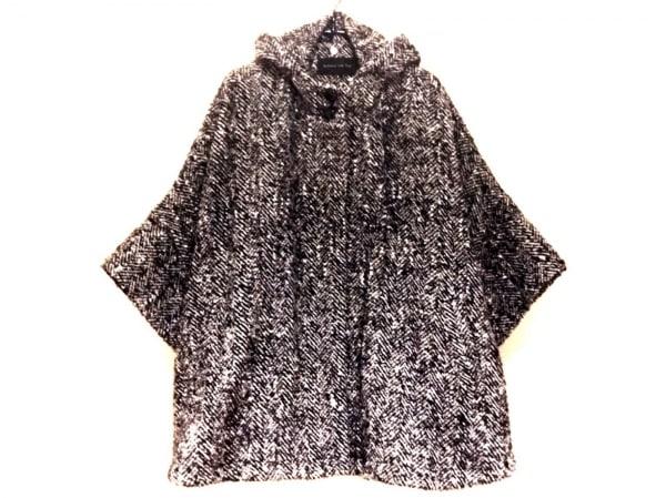 バルコニーアンドベッド コート サイズF レディース新品同様  黒×白 冬物