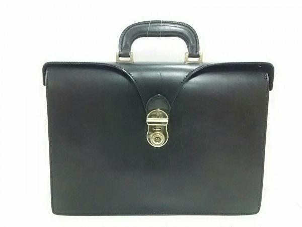 PAOLO MASI(パオロマージ) ビジネスバッグ 黒 レザー