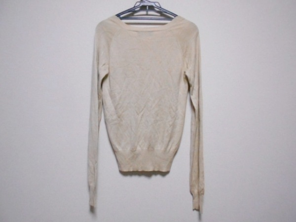 ステラマッカートニー 長袖セーター サイズ38 L レディース ベージュ シルク