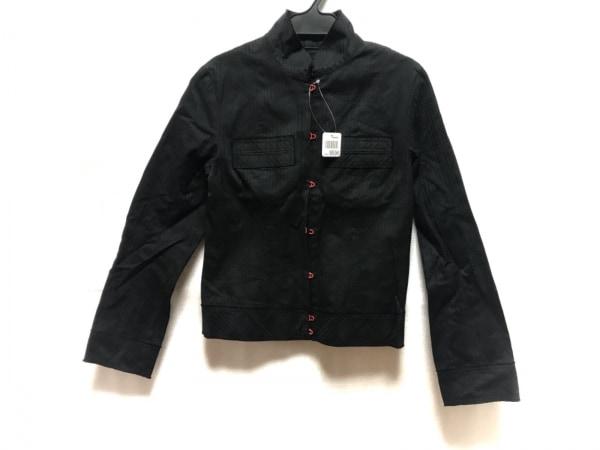 ヴィヴィアンタム ジャケット サイズ1 S レディース美品  黒 ストライプ