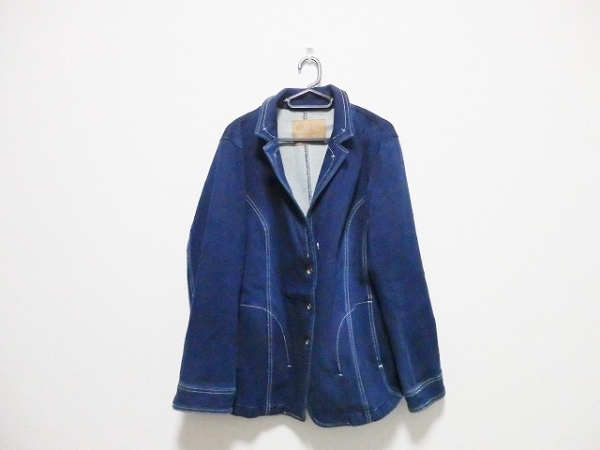 HIROKO BIS(ヒロコビス) ジャケット サイズ15 L レディース ネイビー