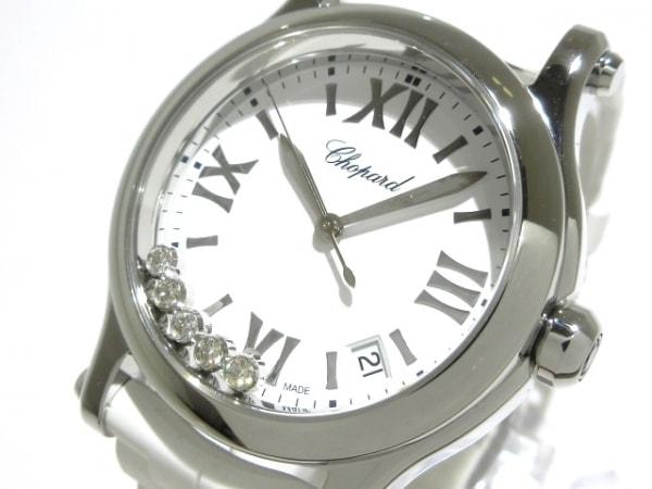 Chopard(ショパール) 腕時計 ハッピースポーツ 278582-3001 レディース 白