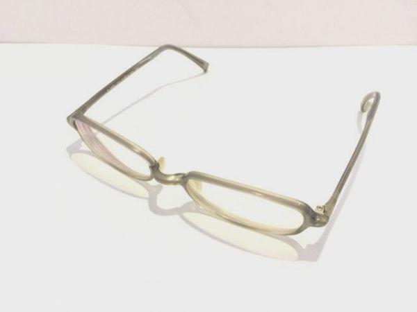 999.9(フォーナインズ) メガネ E-703 クリア×グレー プラスチック