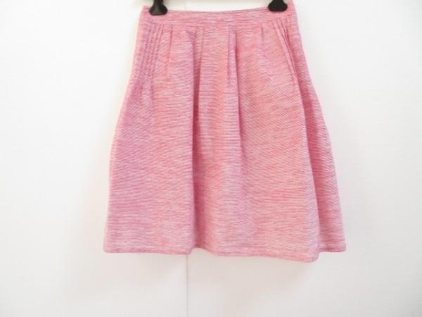 Rene(ルネ) スカート サイズ38 M レディース美品  レッド×白