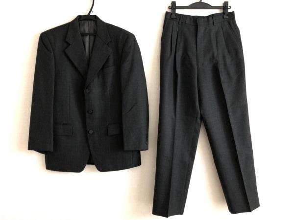 ゴタイリク シングルスーツ サイズ4M メンズ ダークグレー シングル/千鳥格子