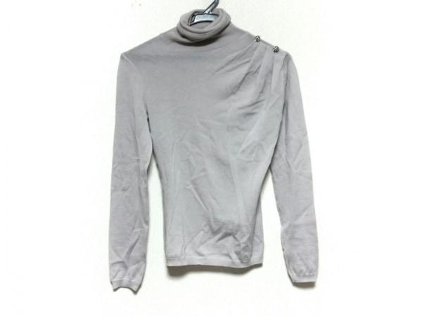 バレンチノローマ 長袖セーター サイズ38/2 レディース美品  グレージュ