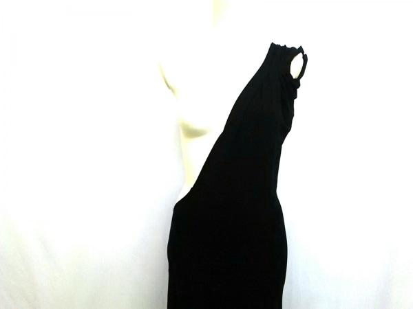 ダナキャランシグネチャー ワンピース サイズS レディース 黒 変形