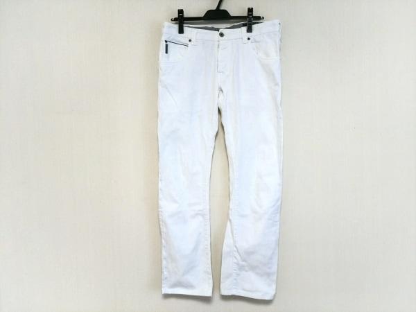 ARMANIJEANS(アルマーニジーンズ) パンツ サイズ32 XS メンズ 白