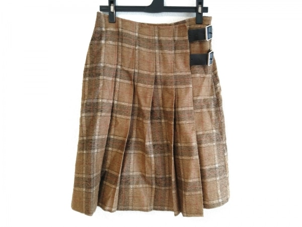 O'NEIL(オニール) 巻きスカート サイズ40 M レディース チェック柄