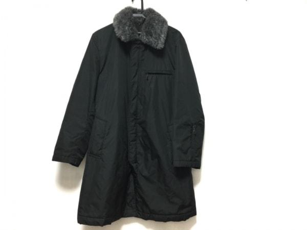 MEN'S MELROSE(メンズメルローズ) ダウンコート サイズ3 L メンズ 黒 冬物