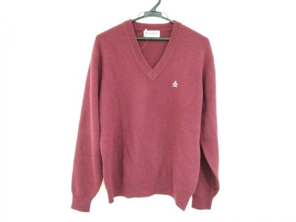 Munsingwear(マンシングウェア) 長袖セーター メンズ ボルドー GrandSlam