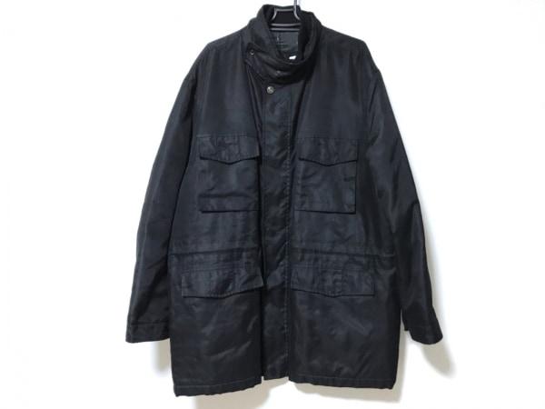 ErmenegildoZegna(ゼニア) コート サイズXL メンズ新品同様  黒 冬物