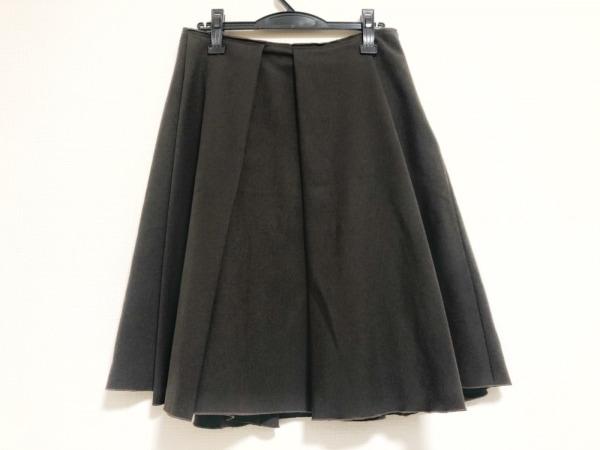 ROCHAS(ロシャス) スカート サイズ42 L レディース ダークブラウン