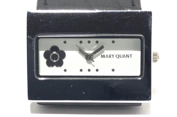 MARY QUANT(マリクワ) 腕時計 - レディース 革ベルト 白 1