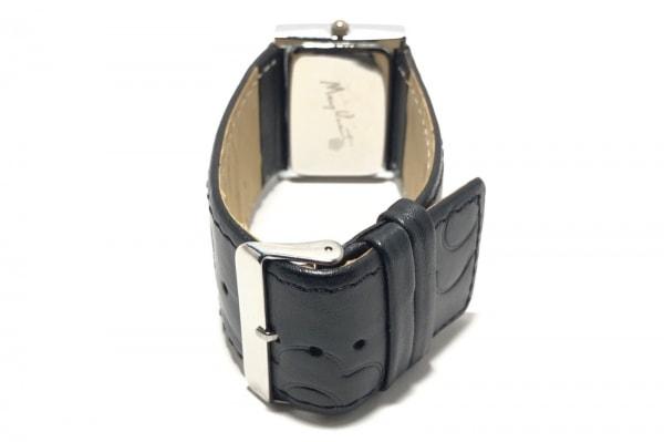 MARY QUANT(マリクワ) 腕時計 - レディース 革ベルト 白 3