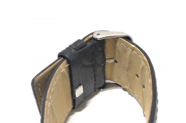 MARY QUANT(マリクワ) 腕時計 - レディース 革ベルト 白 5