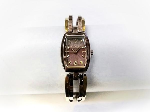 FOSSIL(フォッシル) 腕時計 ES-1859 レディース ダークブラウン