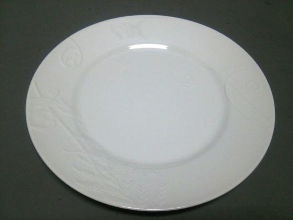 WEDG WOOD(ウェッジウッド) プレート新品同様  NATURE 白 陶器