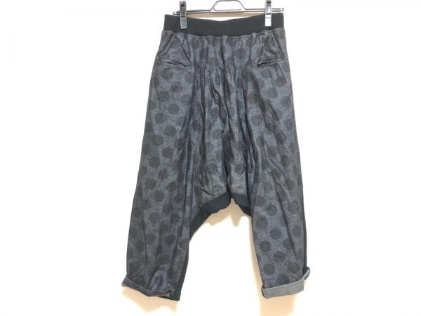 GOMME HOMME(ゴム オム) パンツ サイズ1 S メンズ 黒×グレー ドット柄