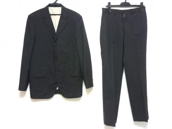 MEN'SBIGI(メンズビギ) シングルスーツ メンズ ダークグレー 肩パッド