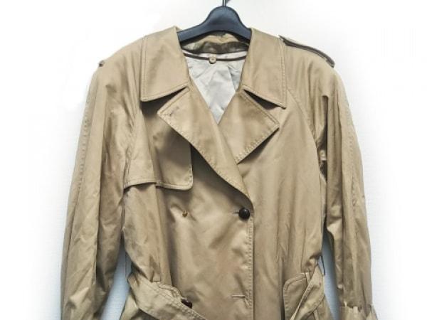 チェスターバリー トレンチコート サイズ11 メンズ ライトブラウン 肩パッド/冬物