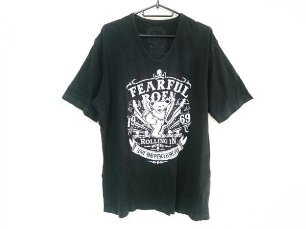 Roen(ロエン) 半袖Tシャツ サイズ50 メンズ 黒×白×シルバー