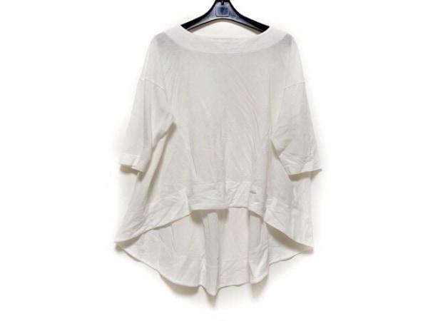 PLAIN PEOPLE(プレインピープル) 七分袖カットソー サイズ3 L レディース アイボリー