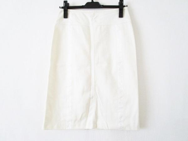 FENDI jeans(フェンディ) スカート サイズ42(I) M レディース アイボリー